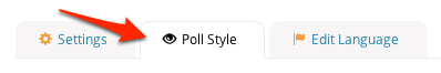 Poll Style