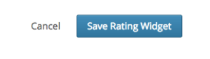 saving widget rating polldaddy