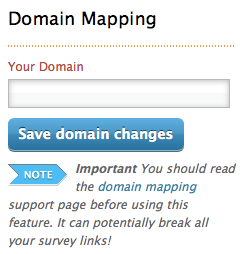 Domain Mapping