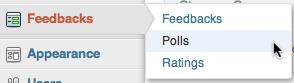 Polls Menu