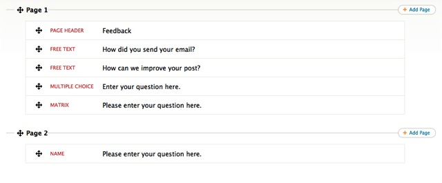 reordering survey questions polldaddy support
